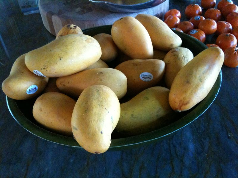 Lots of mangoes