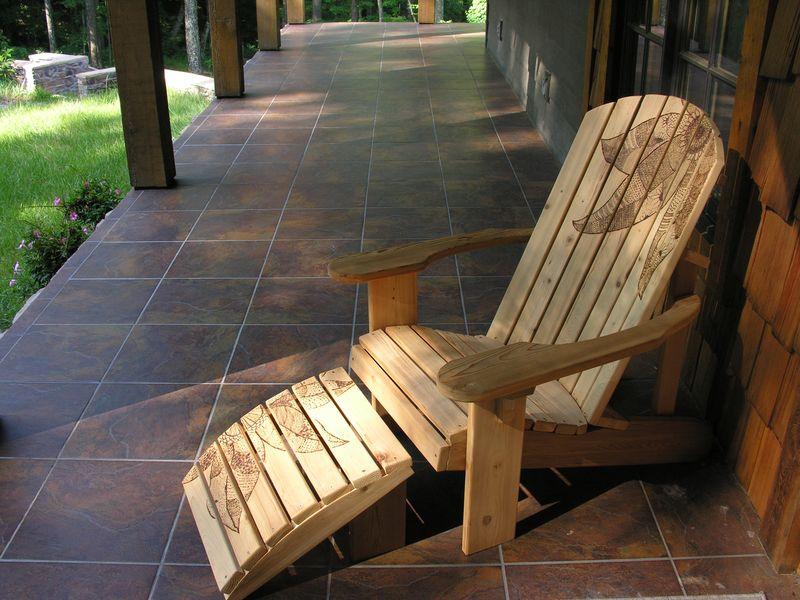 Adirondack chair by Carolina