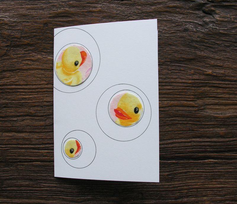 Fabric scraps card 6