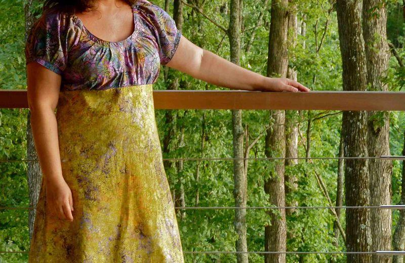 Sew Serendipity Tunic Dress Front