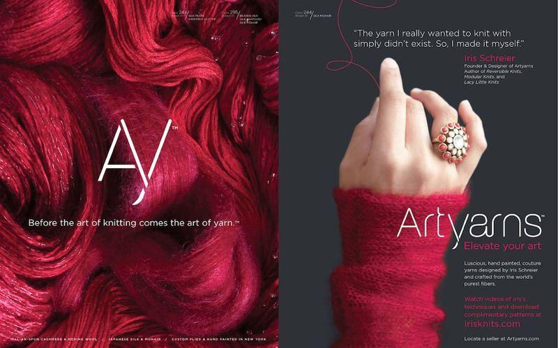 Art Yarns red