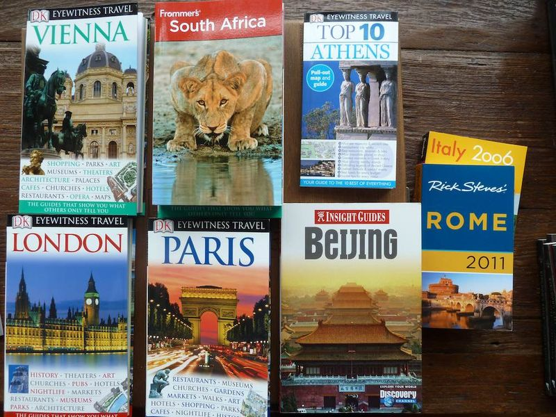 Travel books