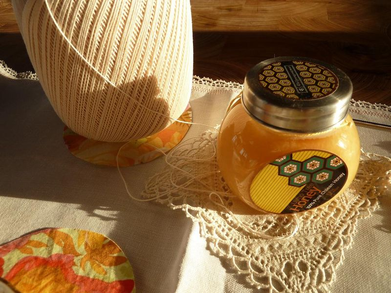 Honey & crochet on Monday 2:21:11