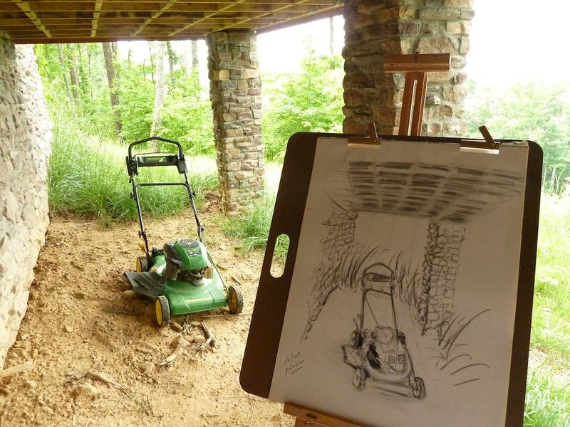 Mower & drawing 5:9:11
