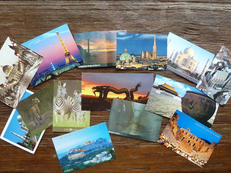 Postcards from Laela's world trip
