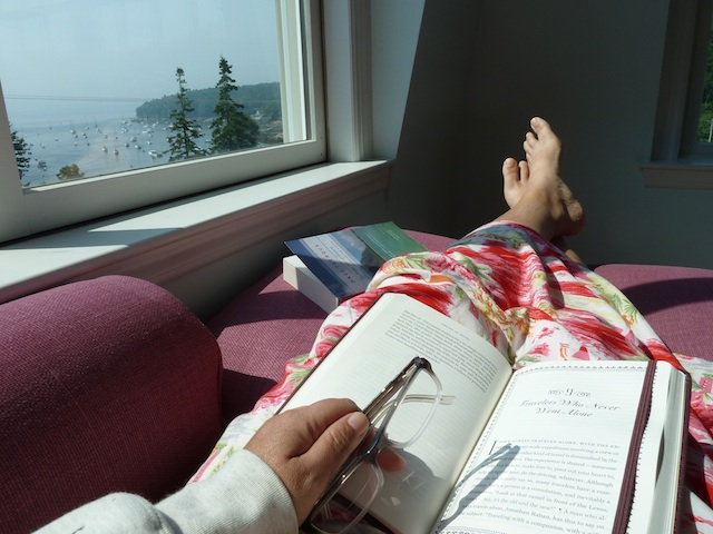 Trying to read with a view