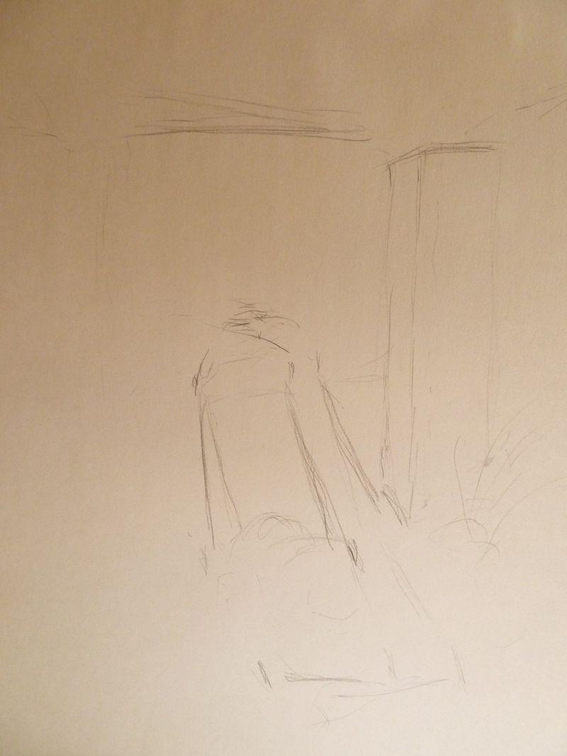 Gesture drawing mower