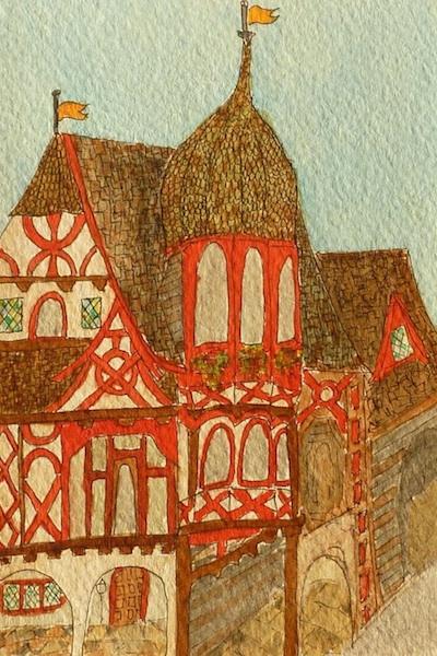 Marburg inspired watercolor