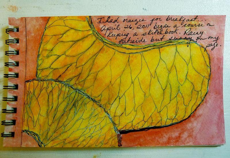 Sketchbook page #1 4:26:2011