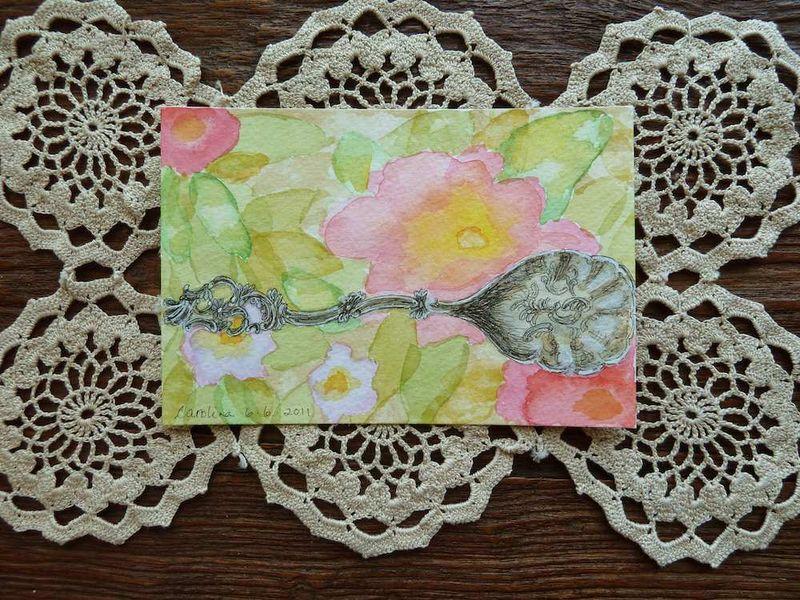 Sugar Spoon on crochet