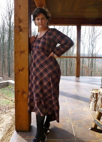 Flannel dress photo 1