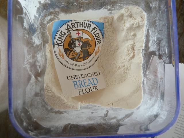 Bread flour bin