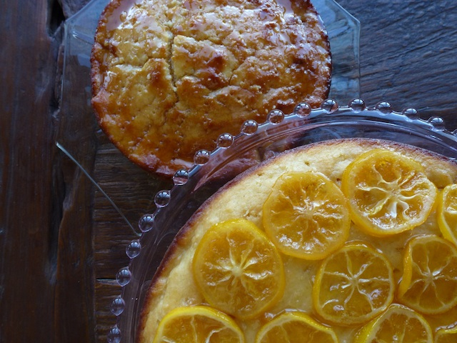 With or Without Lemon Ricotta Cake