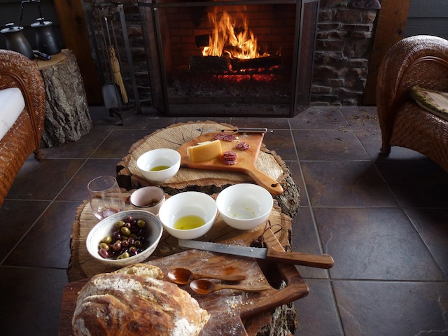 Bread by the fire