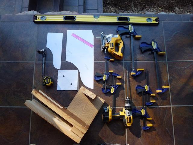 Tools for pergola