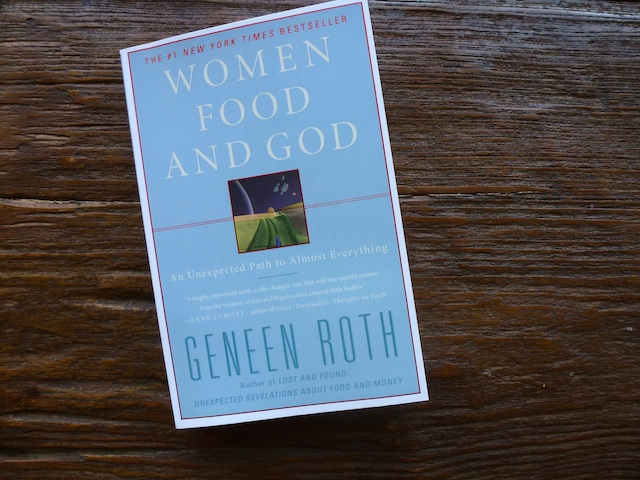 Book cover women, Food, & God