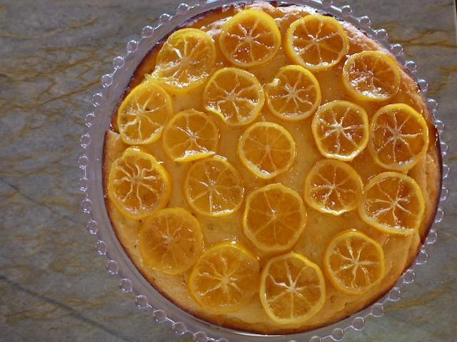 Lemon slice cake