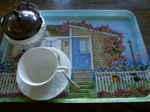 Tea tray, Vineyard House