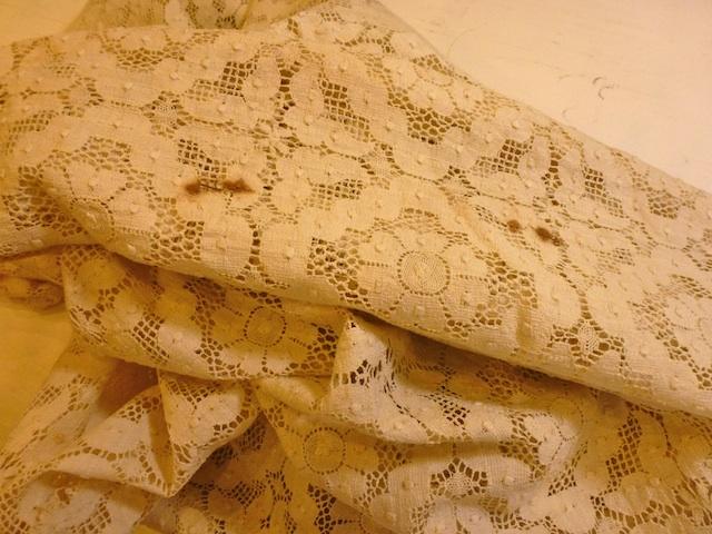 Unusable tablecloth