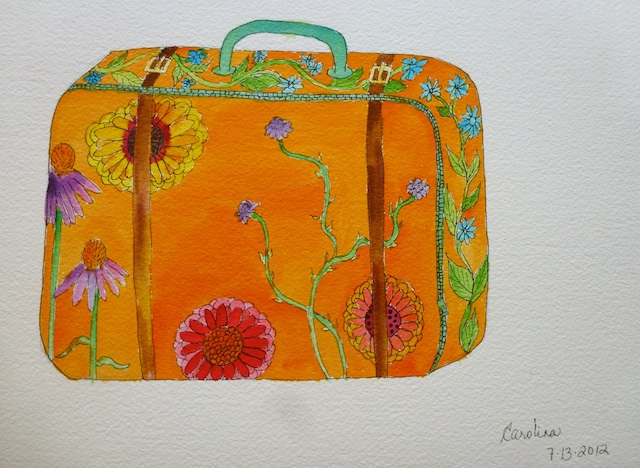 My imaginary suitcase
