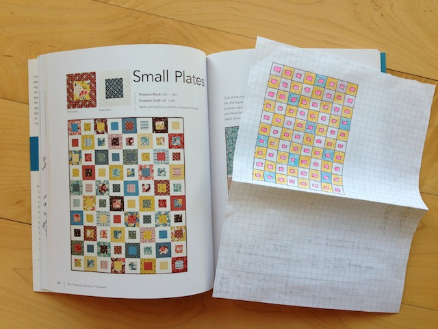 Small plates quilt