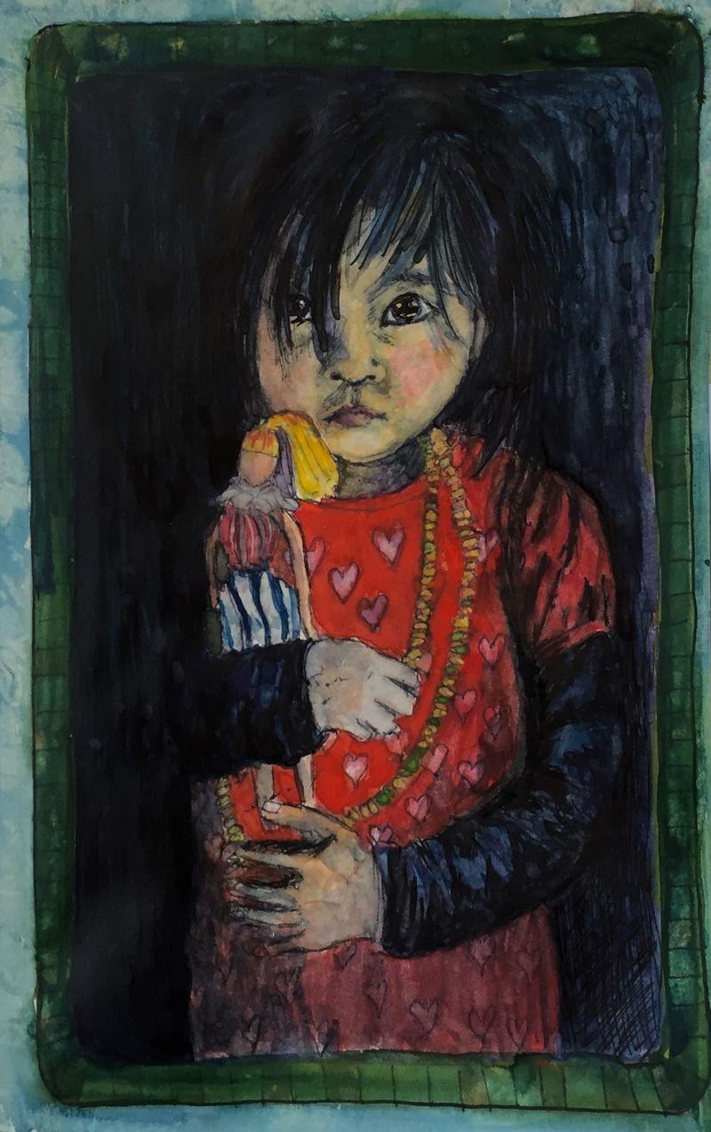 Pinterest Peep #3 Bhutan Watercolor Sketchbook Carollina Ellis