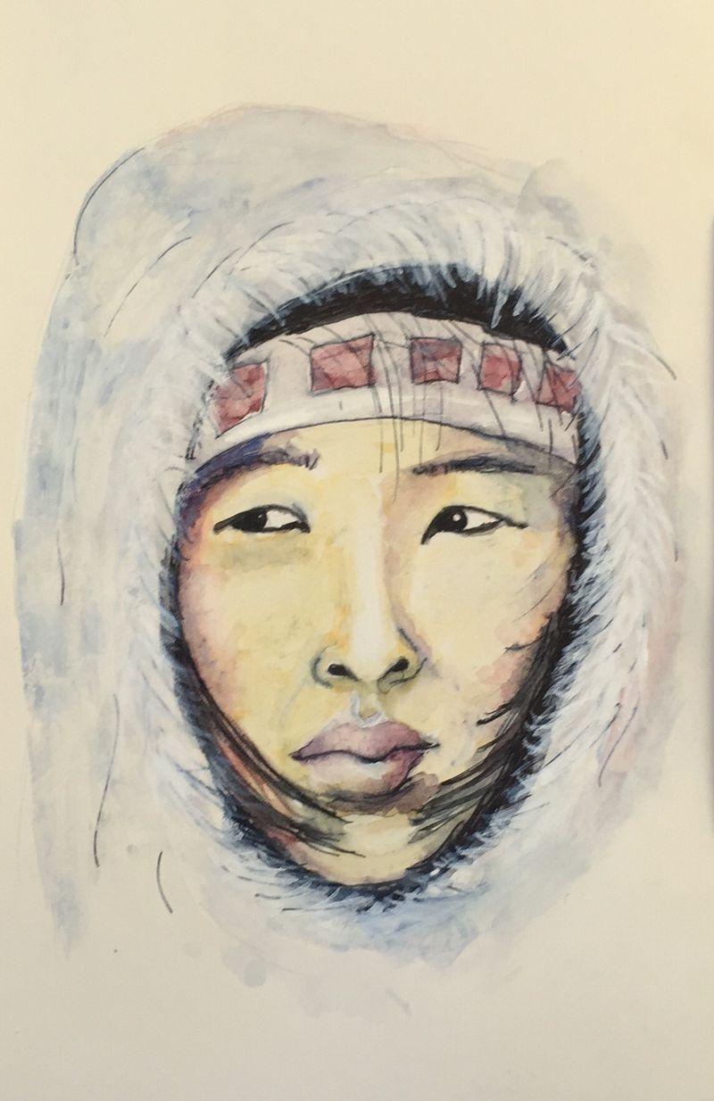 Pinterest Peep #12 Alaska Watercolor Sketchbook Carolina Ellis