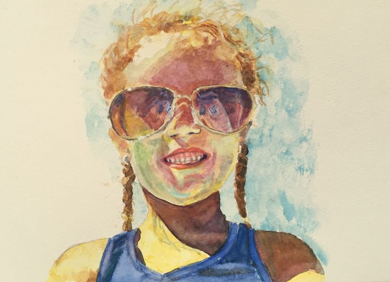 Belén  Watercolor Carolina Ellis