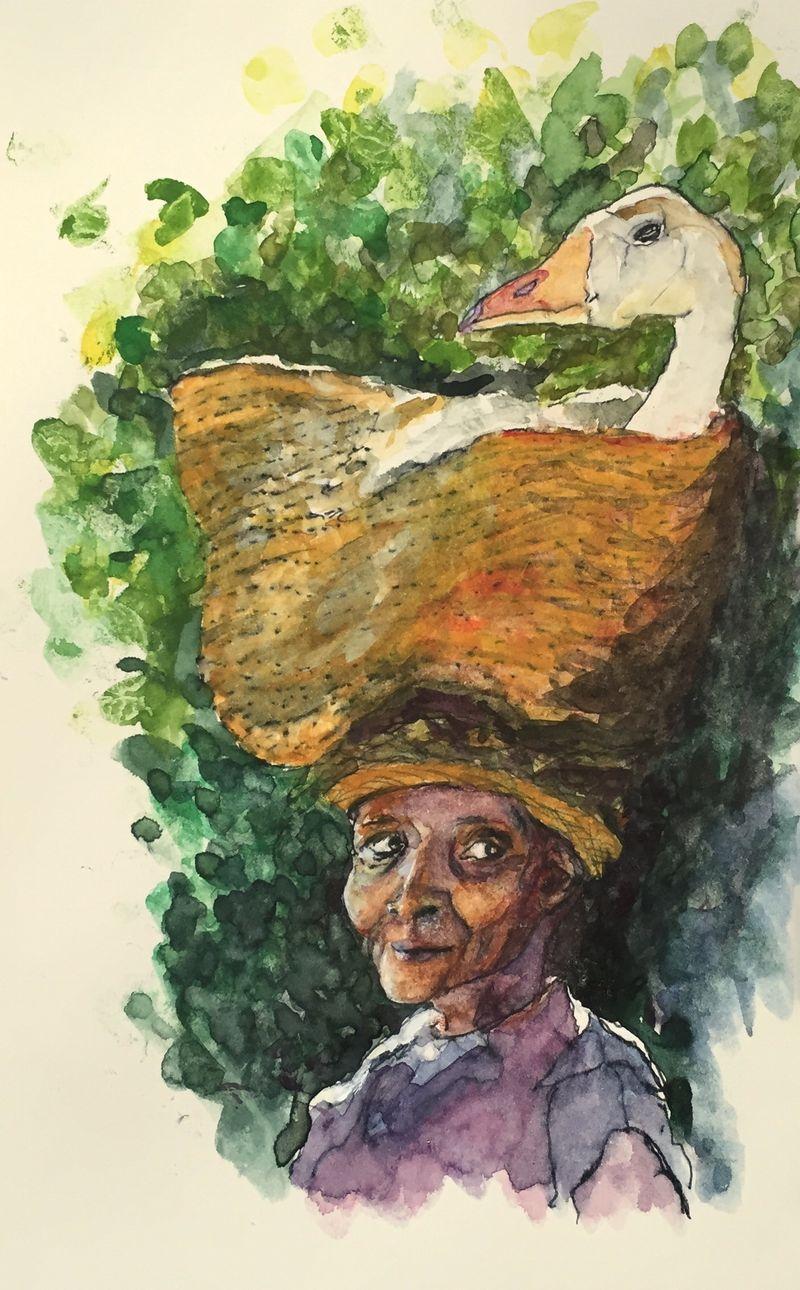 Pinterest Peep # 16 Madagascar Watercolor Sketchbook Carolina Ellis