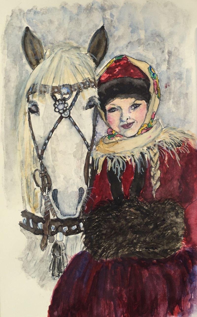 Pinterest Peep #18 Norway Watercolor Sketchbook Carolina Ellis