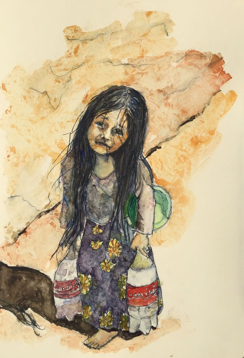 Pinterest Peep #7 Mexico Watercolor Sketchbook Carolina Ellis