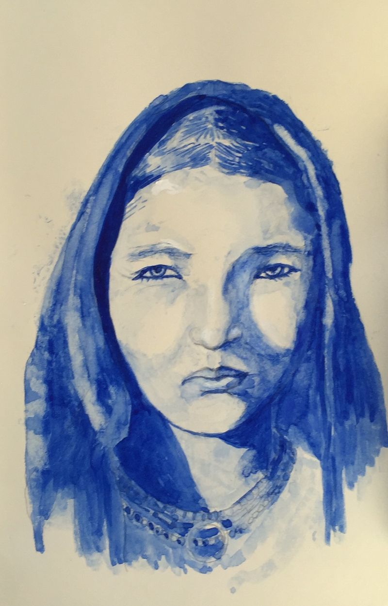 Pinterest Peep #13 Morroco (Morocco) Watercolor Sketchbook Carolina Ellis